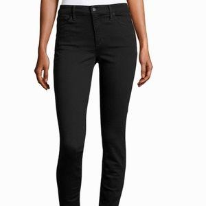 Joe's Jeans THE CHARLIE High Rise Skinny Black
